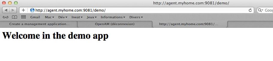 OpenAM - Configurer - Step 2 - Installation agent
