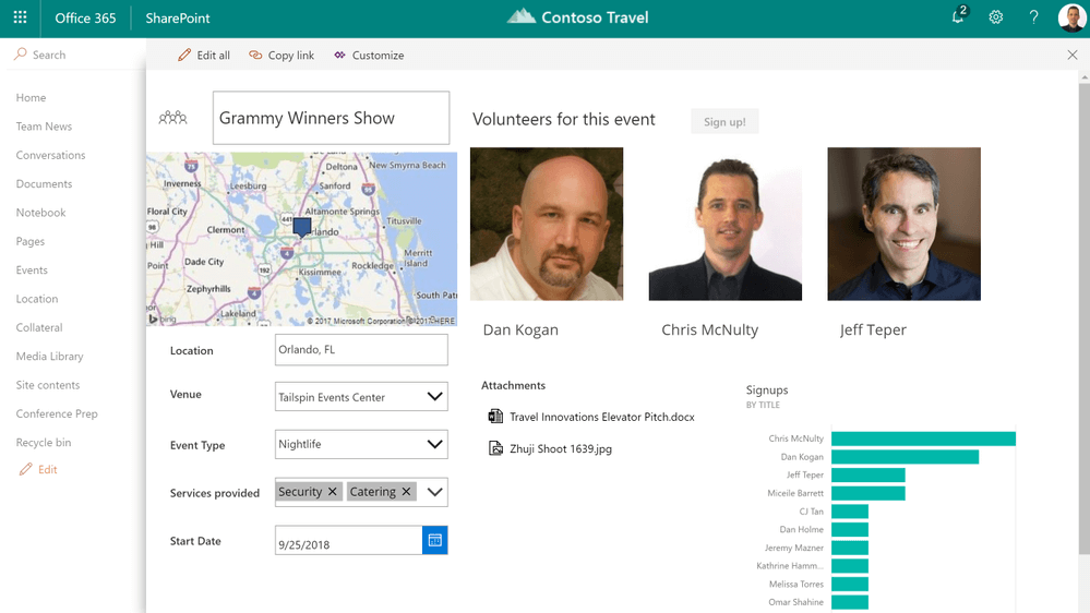 Custom forms with PowerApps