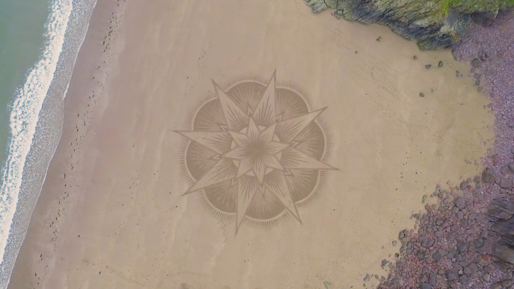 Vue aérienne d'une autre œuvre de Jon Foreman